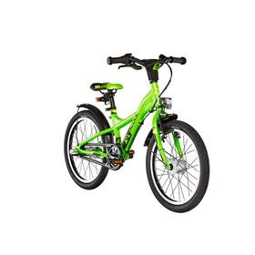 s'cool XXlite street 18 3-S - Bicicletas para niños - alloy negro